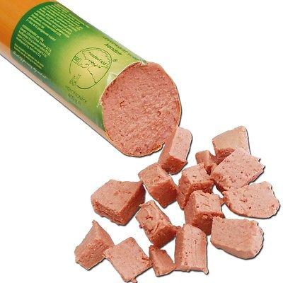 Hunde-Leberwurst minimal ganz bestimmte Gewürze und Salz Hundefutter