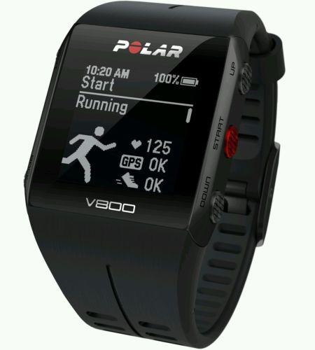 POLAR V800 Special Edition ,Triatlon , GPS , Sportuhr, Schwarz - NEU