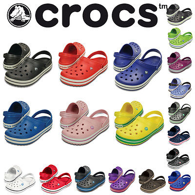 CROCS - Crocband - aktuelle Farben - Klassiker - Sandalen Clogs NEU FACHHÄNDLER
