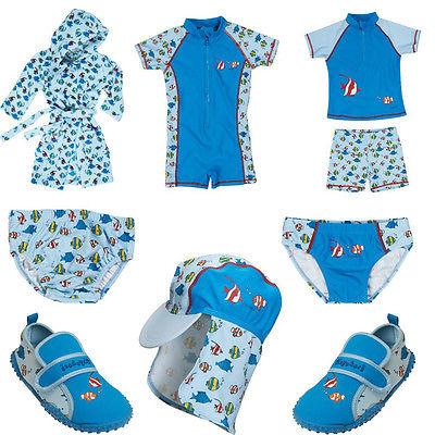 * UV-Schutz Bademode *Playshoes* Fische * Einteiler,Schuhe,Short,Badehose,Mantel