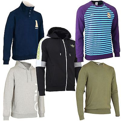 adidas Mens Hoodies + Sweat Tops~5 Great Colours