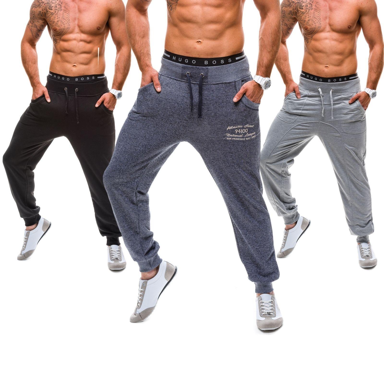 BOLF BBG Herren Sporthose Baggy Trainingshose Jogging Fitness MIX 6F6 Farbwahl