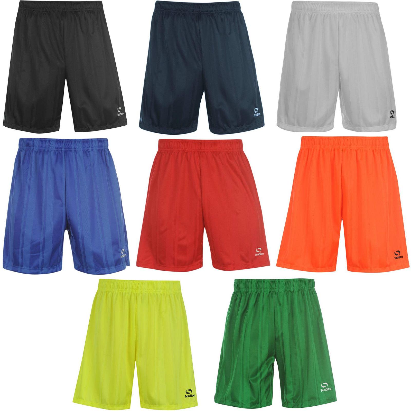 SONDICO Herren Fußballshorts Fußball Shorts kurze Hose Bermuda Polo Sport Shirt
