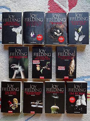 Bücherpaket Sammlung 11 x Joy Fielding Krimis Thriller Psychothriller