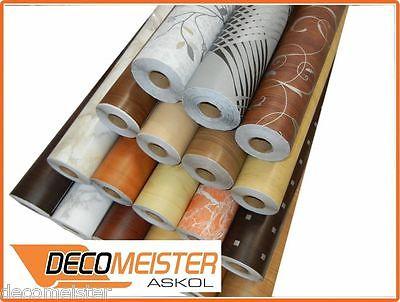 Möbelfolie Selbstklebefolie riesen auswahl Design Deco d-c-fix 45cm br. 2,6€/Lfm