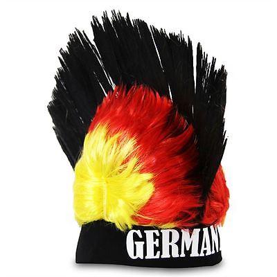 Mütze Irokese Irokesenperücke Deutschland Deutschland-Irokese Irokesenhut WM EM