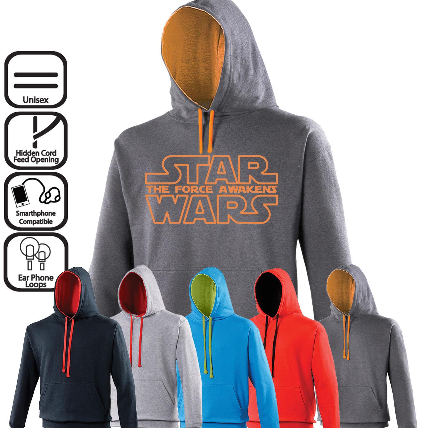 The Force Awakens Unisex Hoodie | Jumper | Jedi | Star Wars | Kylo Ren | BB8