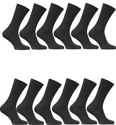 10 bis 100 Paar Damen Herren Socken Sport Arbeit Freizeit Baumwolle schwarz