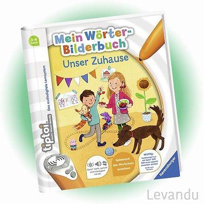 RAVENSBURGER tiptoi® Buch - Mein Wörter-Bilderbuch - Unser Zuhause - NEU