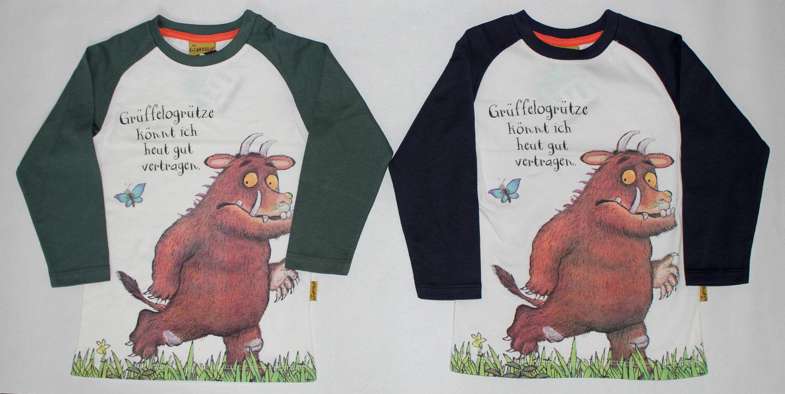 Das Grüffelo Kinder Jungen Langarmshirt Gr.98-128 Püttmann Pullover Shirt  neu!