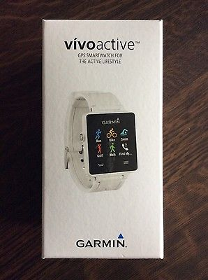 GARMIN VIVOACTIVE MULTI SPORT WATCH GPS ACTIVITY TRACKER SMART UHR