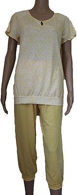 Schiesser Damen  Schlafanzug Pyjama  kurz Shorty  3/4 lang   Design. D329