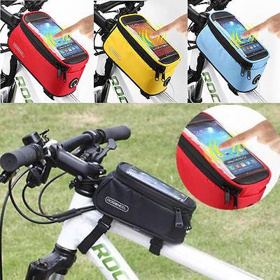Roswheel Fahrrad Handytasche Smartphone Navigation Rahmen Phone Handy Tasche