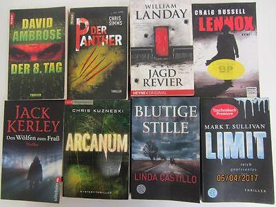 48 Bücher Romane Krimi Thriller Psychothriller  Top Titel Bestseller
