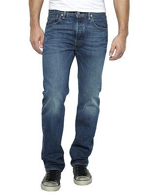 Levi's Herren 501 Regular Fit Jeans, Blau