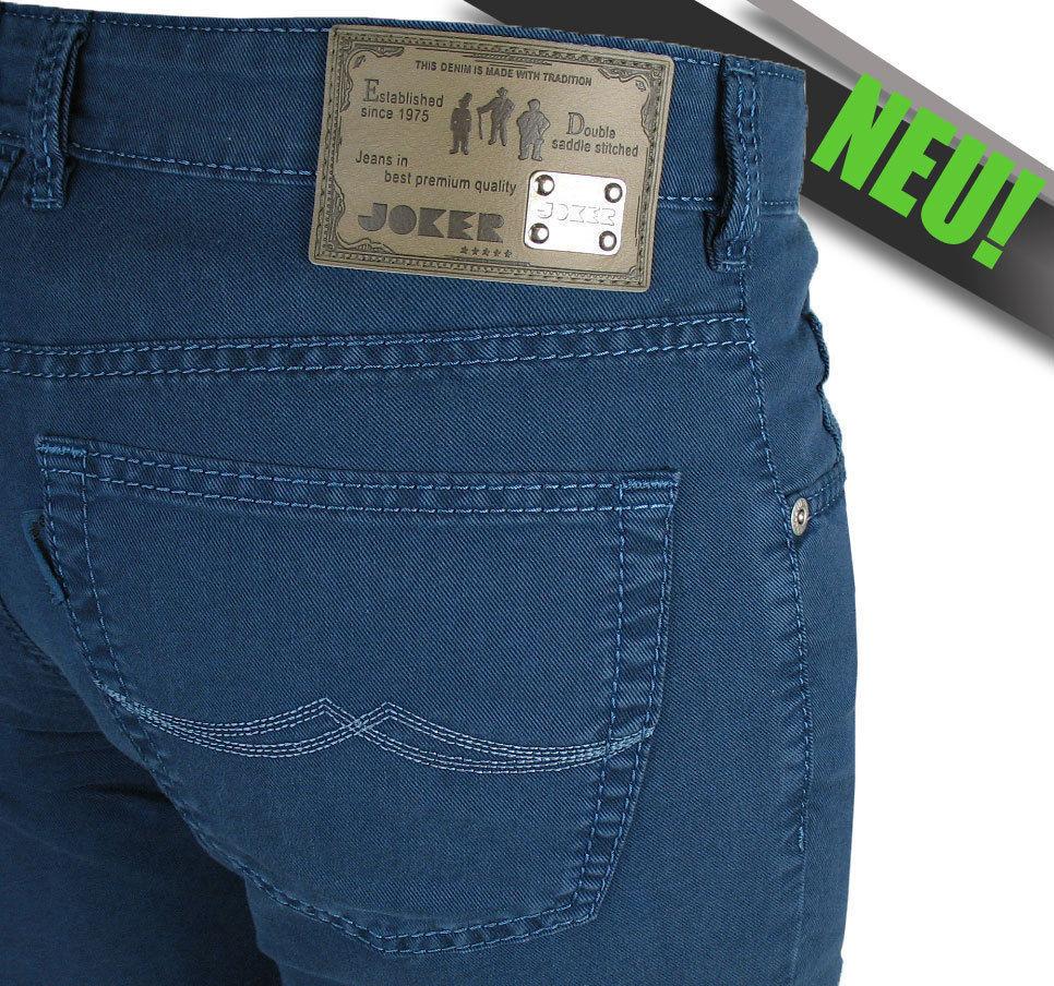 JOKER Stretch-Jeans | Clark (Comfort Fit) 3455 cobalt | Bicolour Special