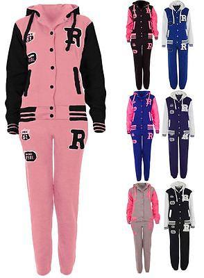 Womens Baseball R Fox Plus Size Hoodie Active Varsity Tracksuit Jacket UK 8-24