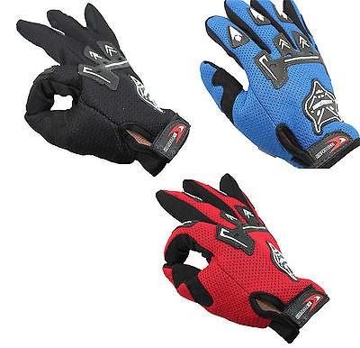 Motorrad Vollfinger Radsport Fahrradhandschuhe Cycling Fahrrad Handschuhe