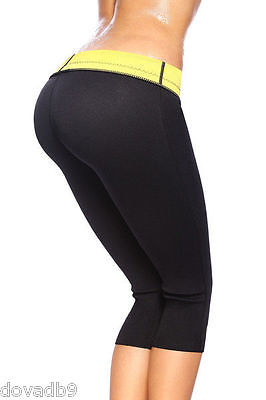Hot Slimming Shaper Pants Thermo Wear Capri Anti Cellulite Active Weight Loss