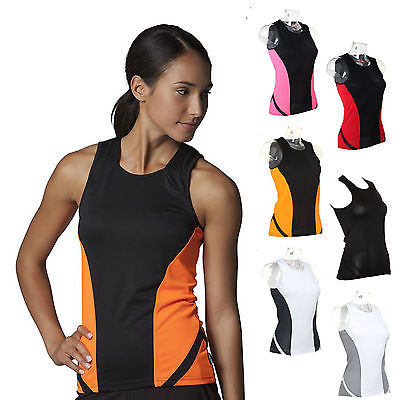 Womens Sports Gym Running Vest Fitness Jogging Yoga Singlet Top Breathable