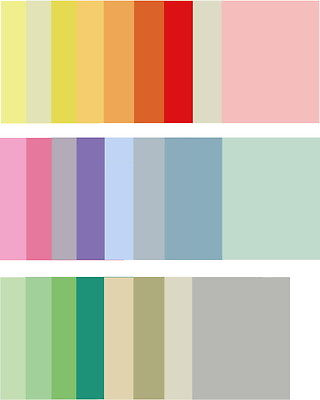 Papier DIN A4 versch. Farben 80 g/qm Kopierpapier Druckerpapier Bastelpapier Set