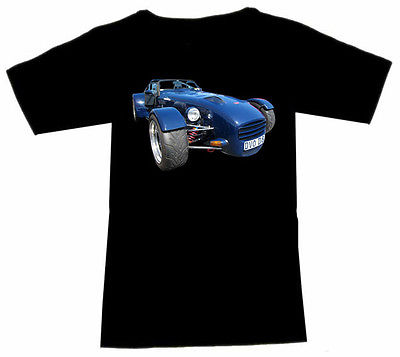 T-Shirt mit Donkervoort Automotive - Fruit Of The Loom S M L XL 2XL 3XL