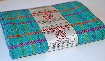 HARRIS TWEED FABRIC LABELS 100% wool tartan herringbone craft patchwork sewing .
