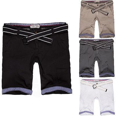 Capri Top Star Herren Bermuda Shorts Kurze Hose Jeans Vintage Chino Cargo
