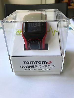 TomTom Runner Cardio GPS Watch (Black/Red) OVP NEUWERTIG