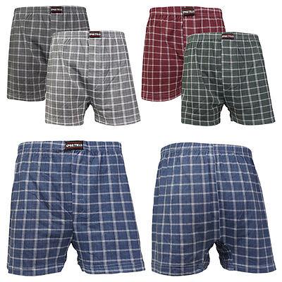 6x Herren Boxershorts Boxer Unterhose Unterwäsche gemischte Farben ++ Baumwolle