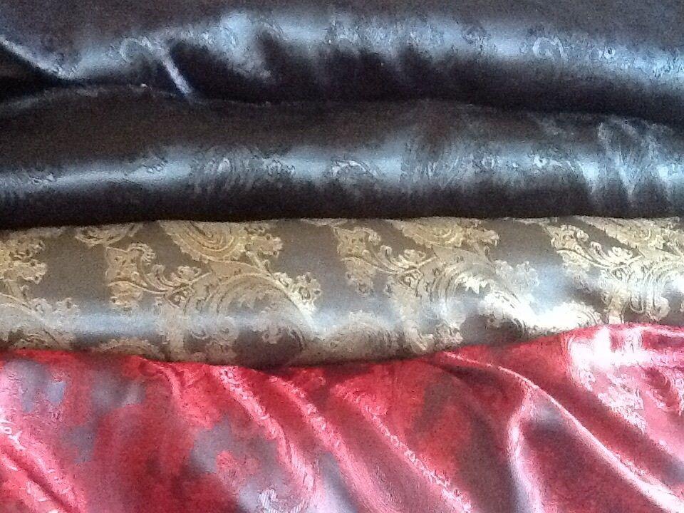 Luxury High quality Paisley Jacquard dress lining fabric £4.65 /m  1.44m wide