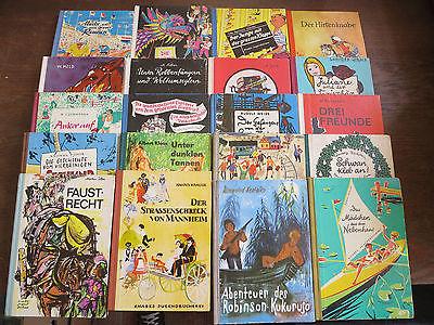 Bücherpaket 20x  DDR Ostalgie Knabes Jugendbücherei  Sammlungsauflösung Konvolut