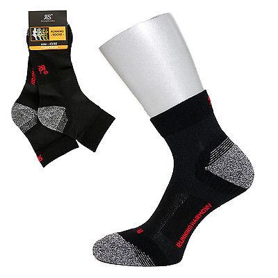 Atmungsaktive Kurzschaft Funktions Lauf & Outdoor Strümpfe Sport Socken 4 Paar
