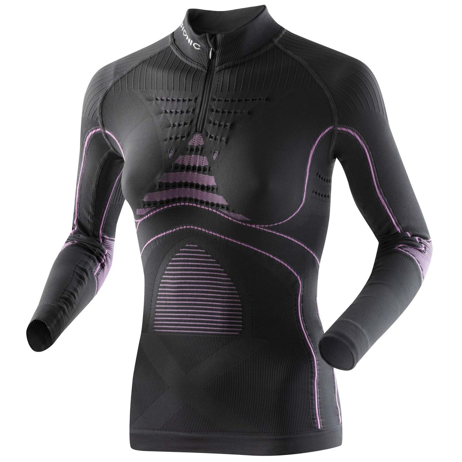 X-Bionic Lady Accumulator EVO Energy Shirt Long Sleeve Zip Up Funktionsshirt
