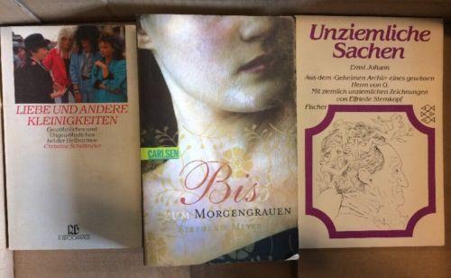 126 Bücher Taschenbücher Verschiedener Verlage