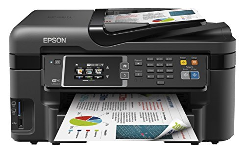 Epson WorkForce WF-3620DWF Multifunktionsgerät (Scannen, kopieren und Fax funktionen) schwarz