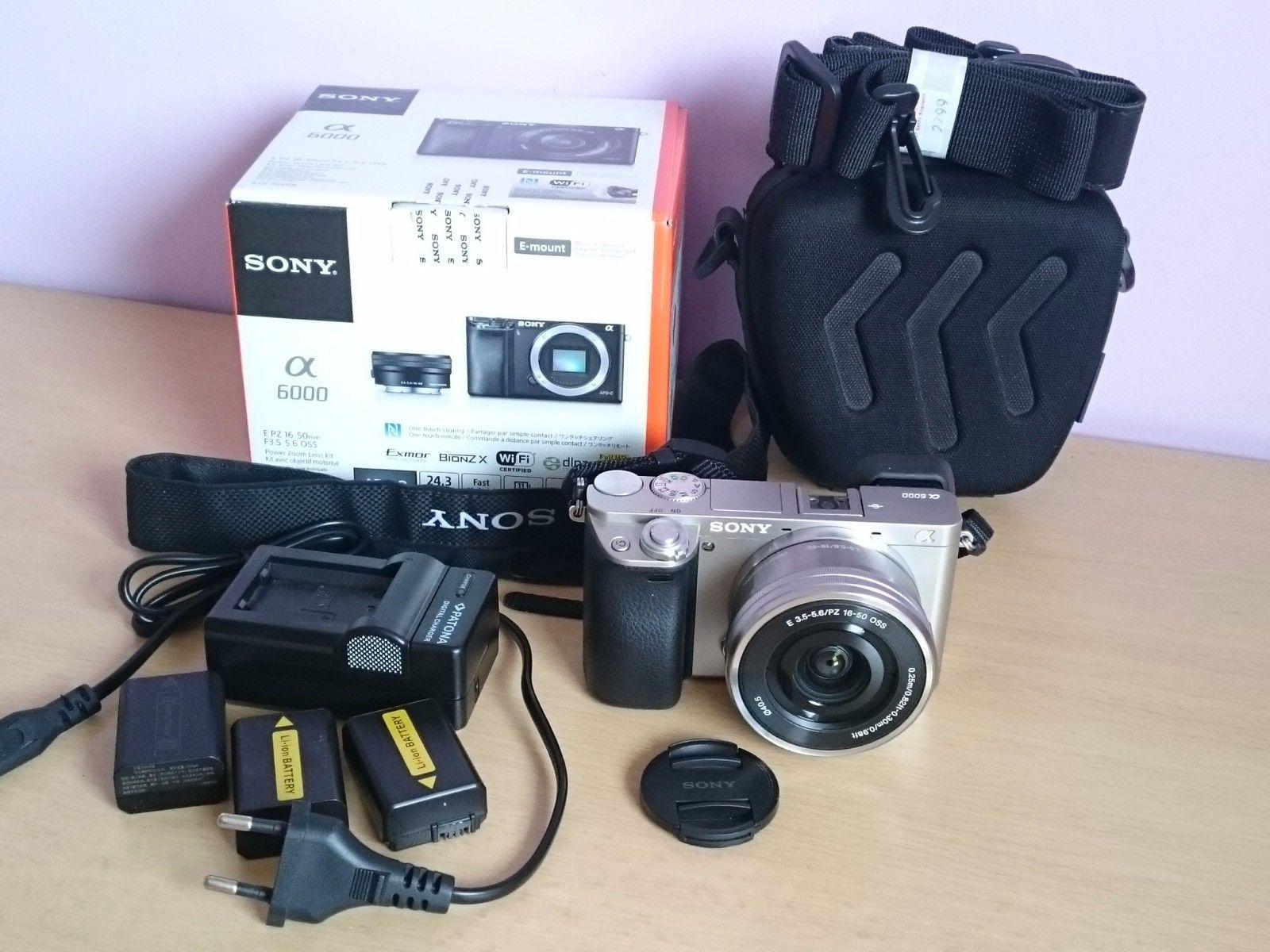 Sony Alpha A6000 1650 Kit in neuwertigem Zustand (wie Neu)  mit OVP Paket