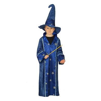 Zauberer Robe Kostüm Kinder Kostüm Kind Fasching Karneval