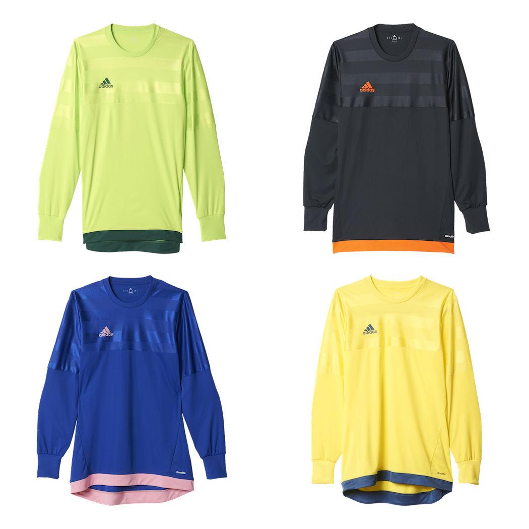 adidas Entry 15 Goalkeeper Torwarttrikot Kinder Erwachsene dunkelgrau/orange