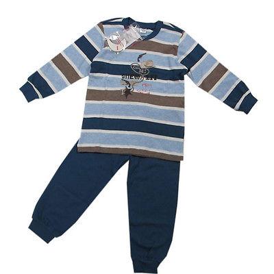 %Kanz Nachtwäsche Schlafanzug 2-tlg.Jungen Jersey Gr.110,140,152 NEU!