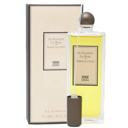 SERGE LUTENS SERGE LUTENS - SA MAJESTE LA rosa Eau de Parfüm mit Zerstäuber 50 ml - Damen, 1er Pack (1 x 50 ml)