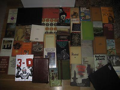 1838 -1991 antiquarische Büchersammlung Buchpaket antik Konvolut 42 Stk. ca.340€