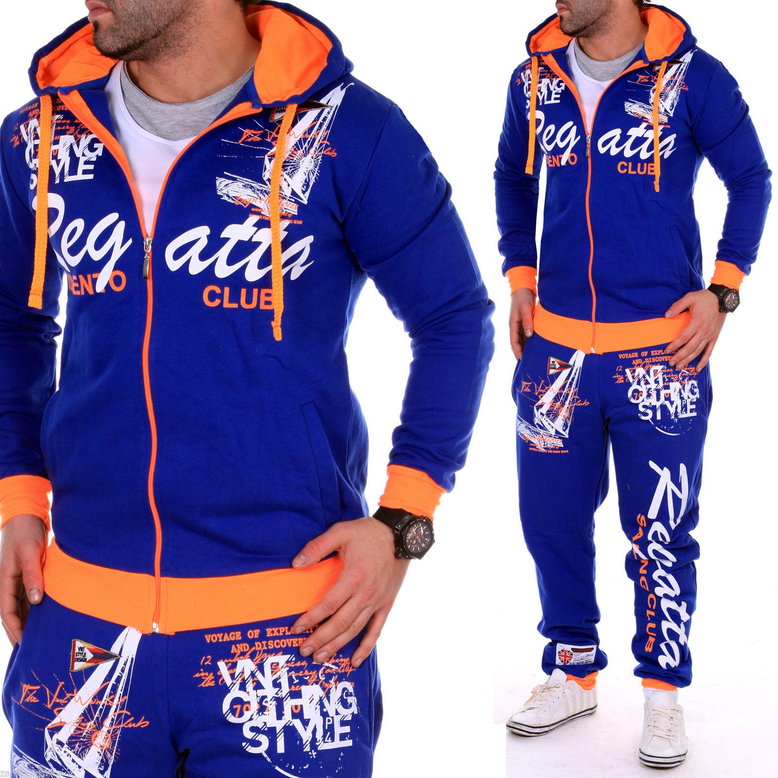 Herren Jogginganzug Jogging Jacke Hose Sportanzug Sportswear Laufen Jogger NEU