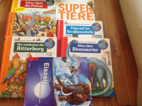 Kinderbücher Paket 7 Stück
