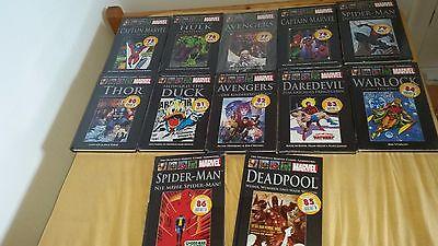 12 Offizielle Marvel Comic Sammlung (NEU+OVP)