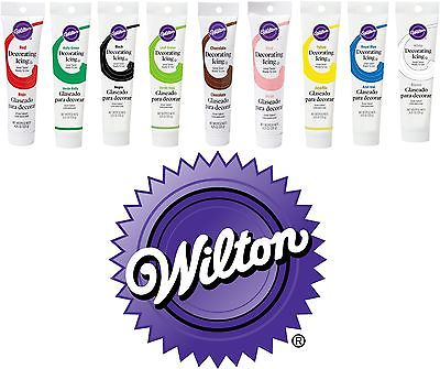 Wilton Ready to Use Icing Tube 125g - Fertige Spritzglasur für Tortendekoration