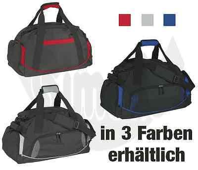 Sporttasche Grau Rot Blau Schwarz Reisetasche Freizeittasche Trainingstasche NEU
