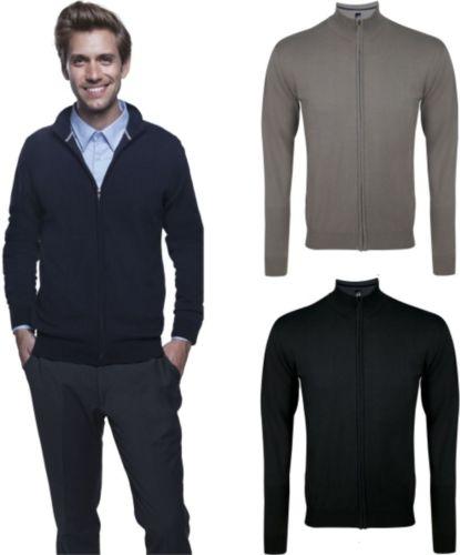 SOL'S HERREN STRICKJACKE Pullover Zipped Knitted Cardigan Gordon langarm-S-3XL-2