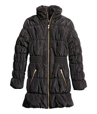 H&M Wintermantel / Jacke Gr. 134, 140, 146, 152, 158, 164, 170  schwarz *NEU!*