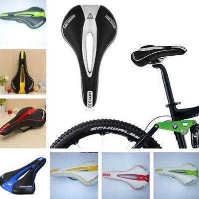 Mode MTB Fahrrad Sattel Fahrradsattel Mountainbike Soft Komfort Fahrradsitz OP
